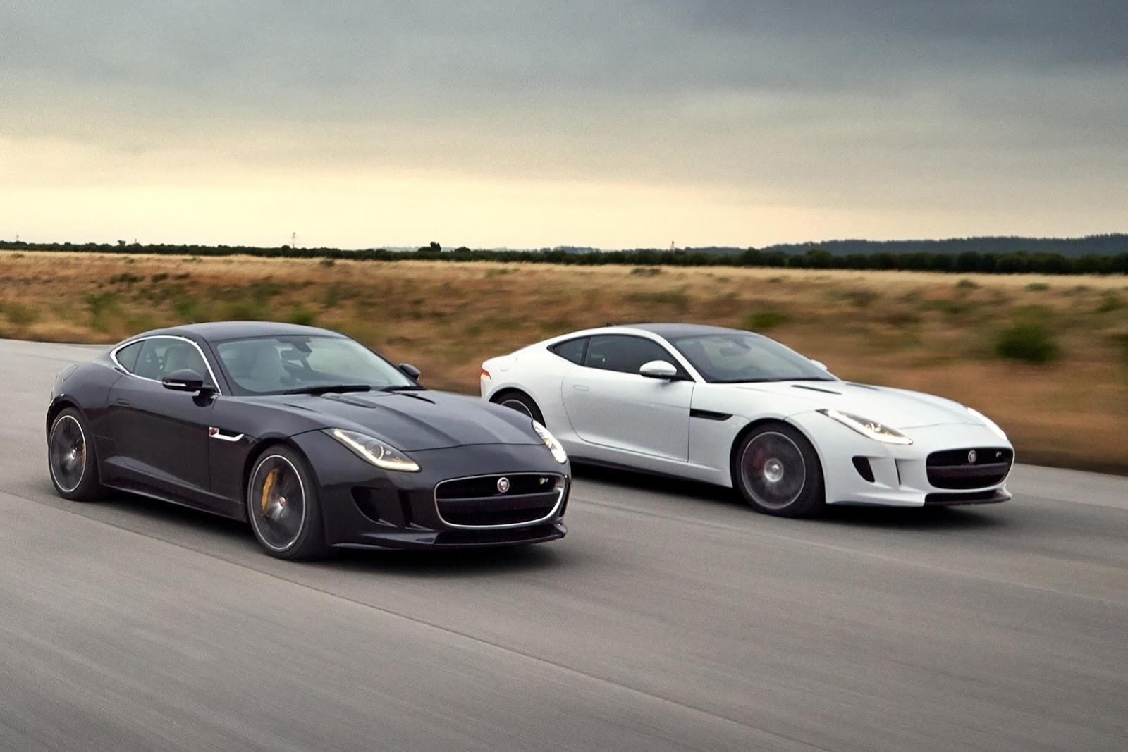 New Jaguar F-Type Coupe photo galleryJaguar F Type Black Coupe